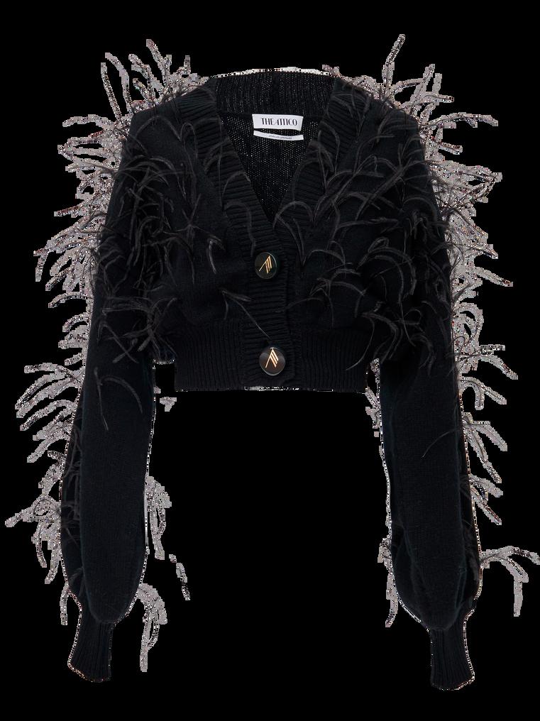The Attico Black lambswool sweater 4