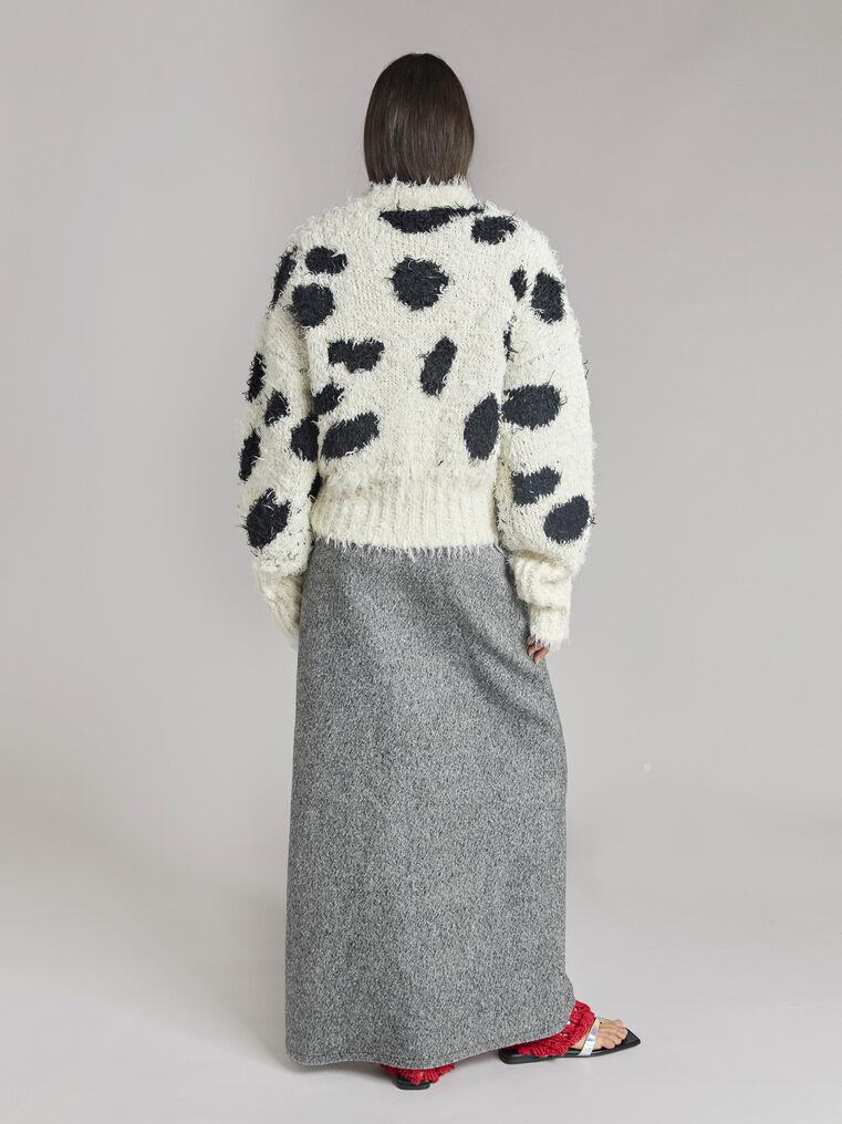 THE ATTICO Black and white sweater 3