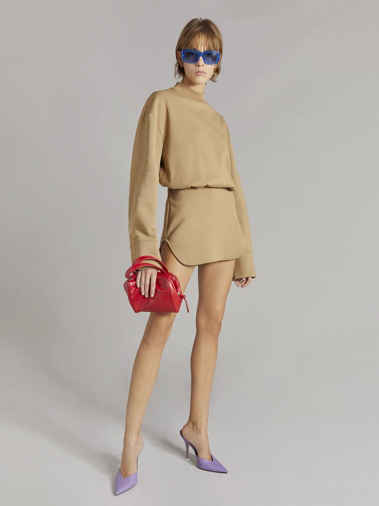 """THE ATTICO """"Palmer"""" camel mini dress 1"""
