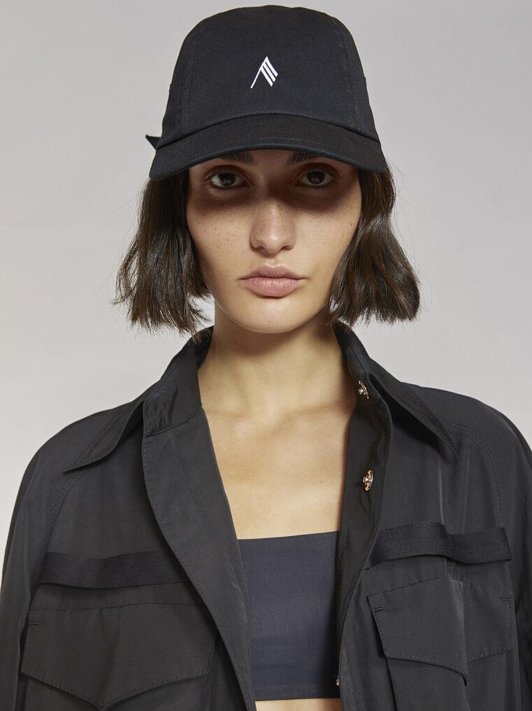 THE ATTICO Black cap 2