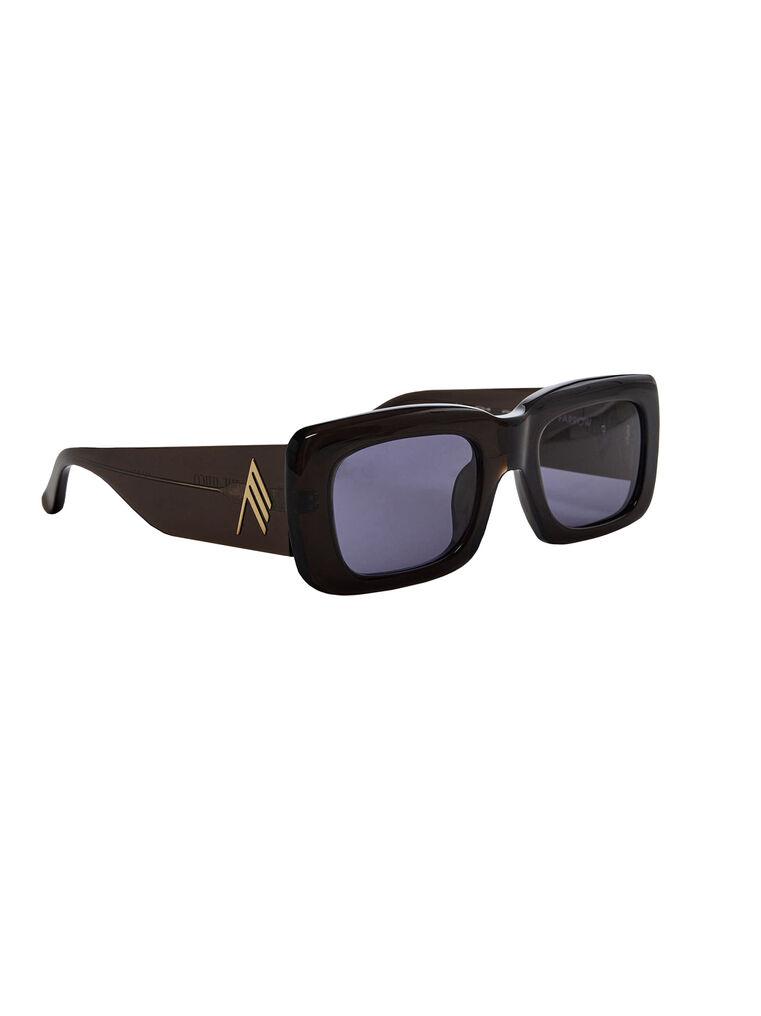 """THE ATTICO """"Marfa"""" brown sunglasses 3"""