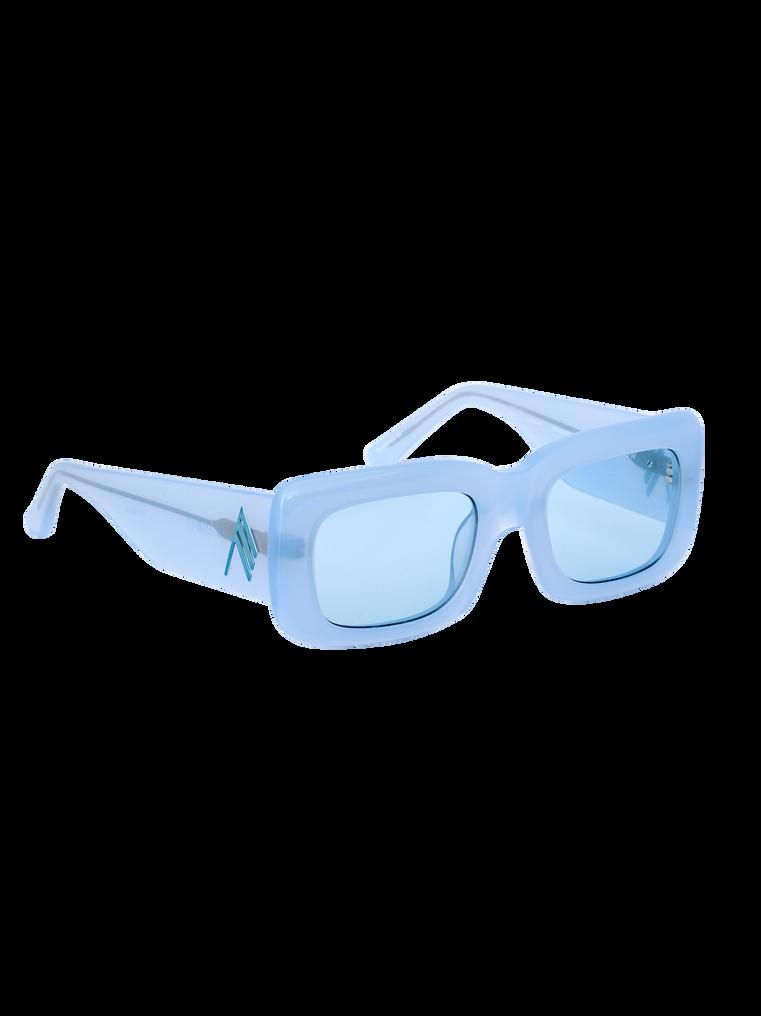 "The Attico ""Marfa"" light blue sunglasses 2"