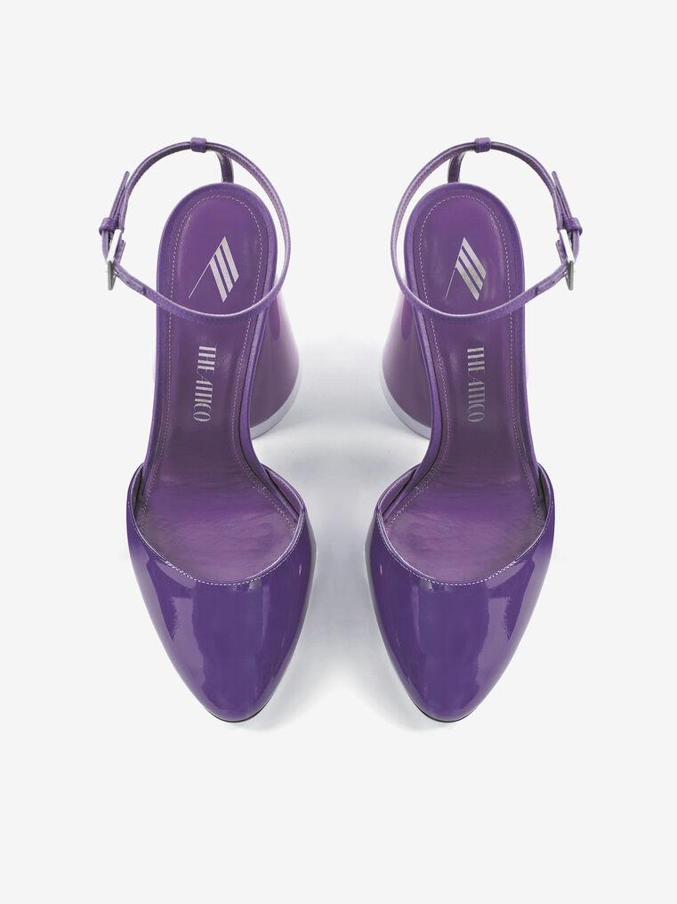 THE ATTICO ''Luz'' violet slingback 2