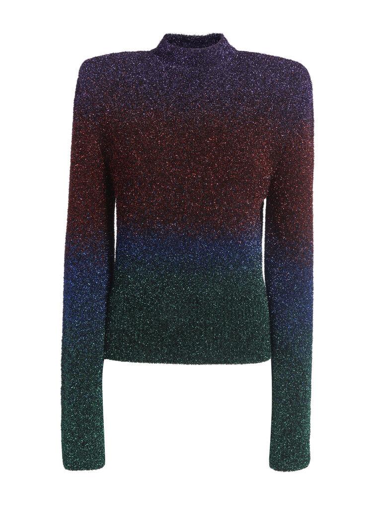 """THE ATTICO """"Kenna"""" multicolour sweater 4"""