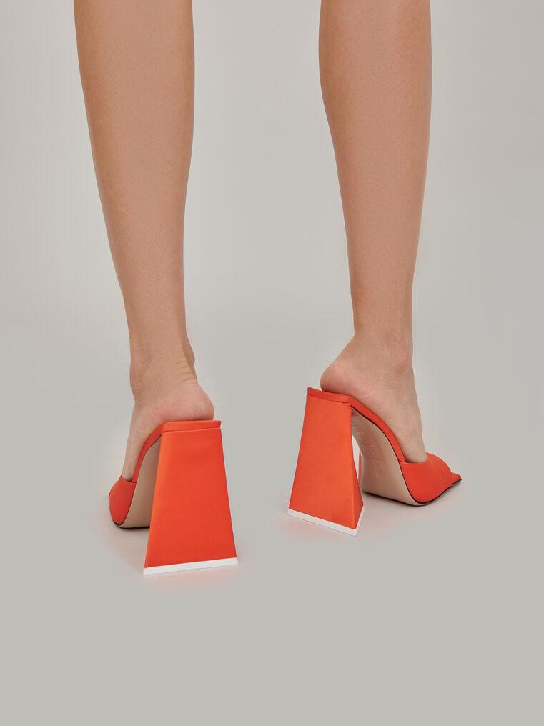 """The Attico """"Devon"""" orange mule 3"""