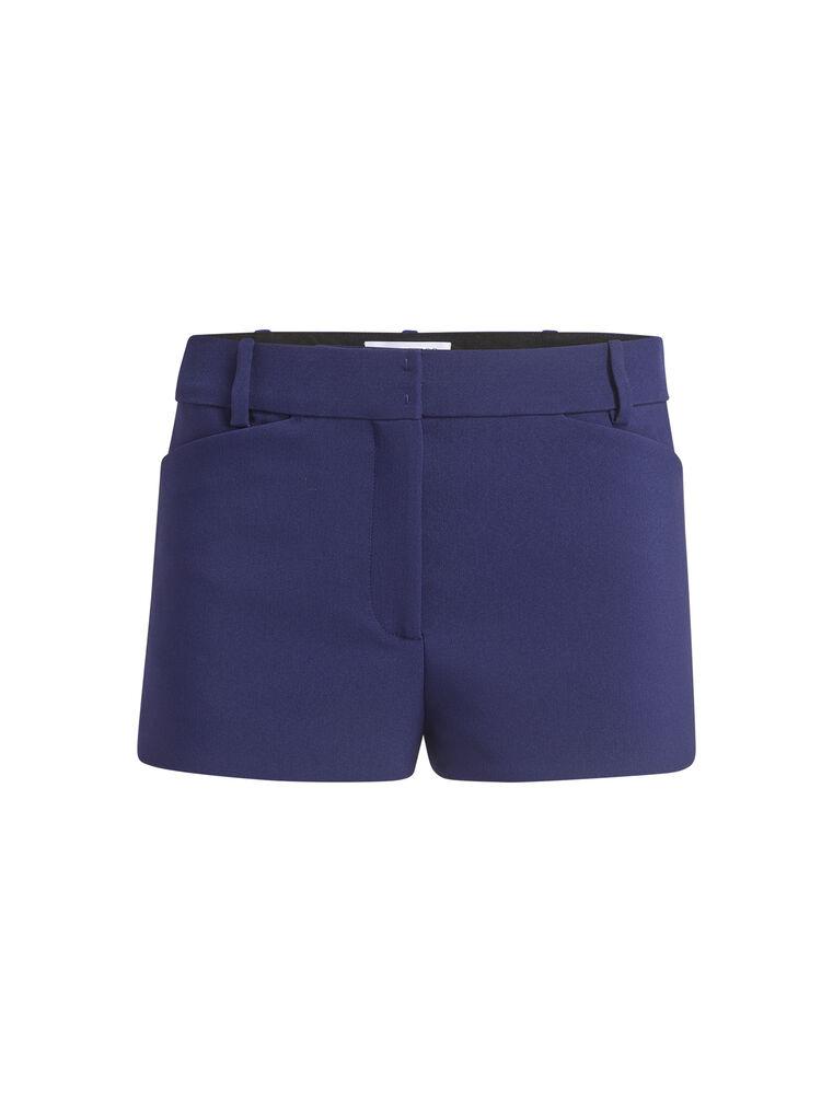 THE ATTICO Blue navy shorts 5