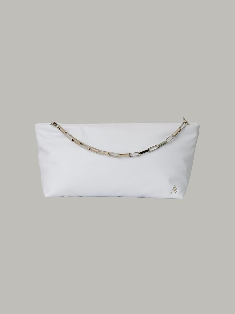 """The Attico Medium """"Wynona"""" white pouch 1"""
