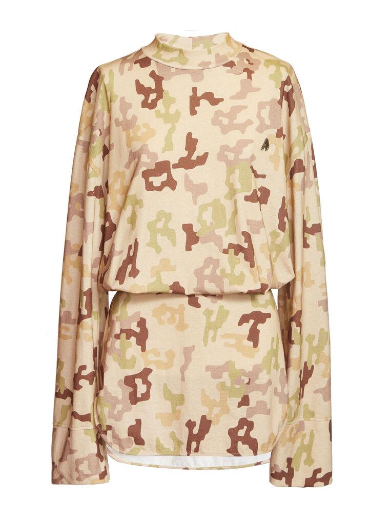 """THE ATTICO """"Palmer"""" camouflage mini dress 4"""