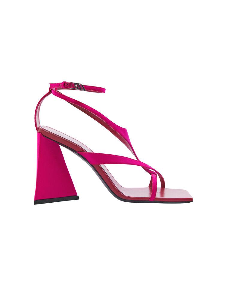 """THE ATTICO """"Atena"""" fuchsia sandal 4"""