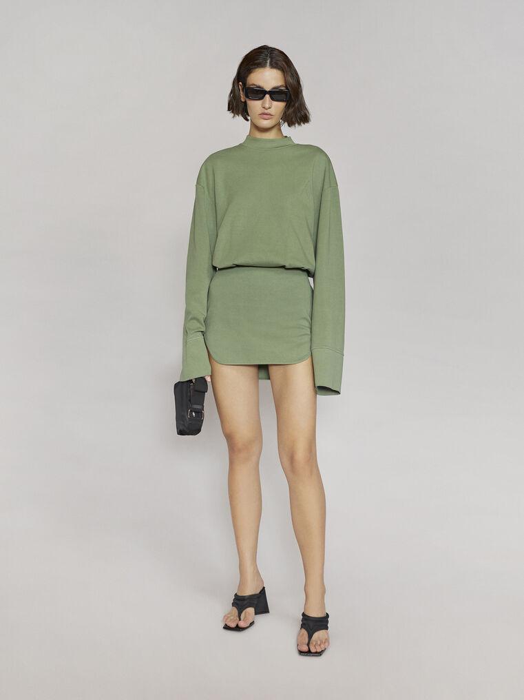 """THE ATTICO """"Palmer"""" olivine mini dress 1"""
