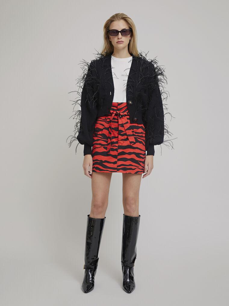 The Attico Black lambswool sweater 1