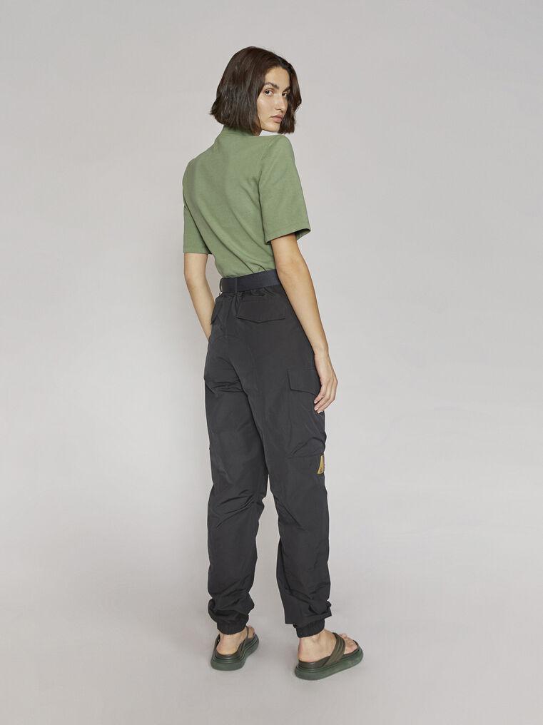 "THE ATTICO ""Tessa""olivine t-shirt 3"