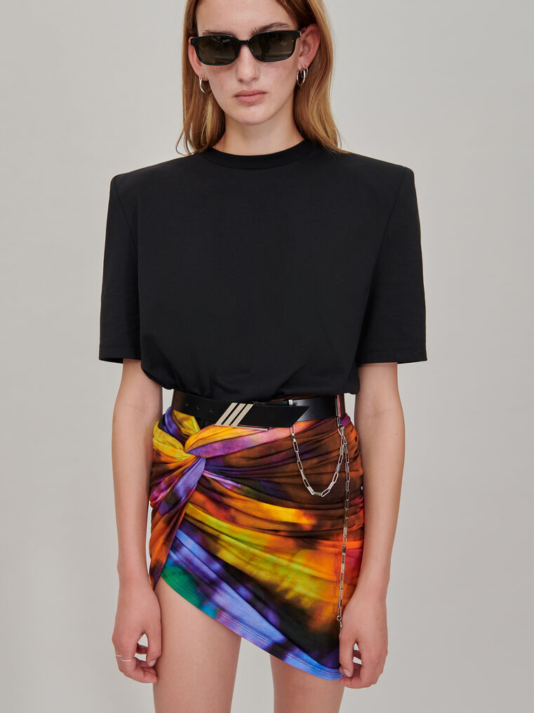 The Attico Draped mini skirt 1