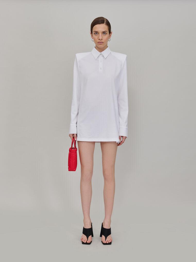 """The Attico """"Astrid"""" polo mini dress 1"""