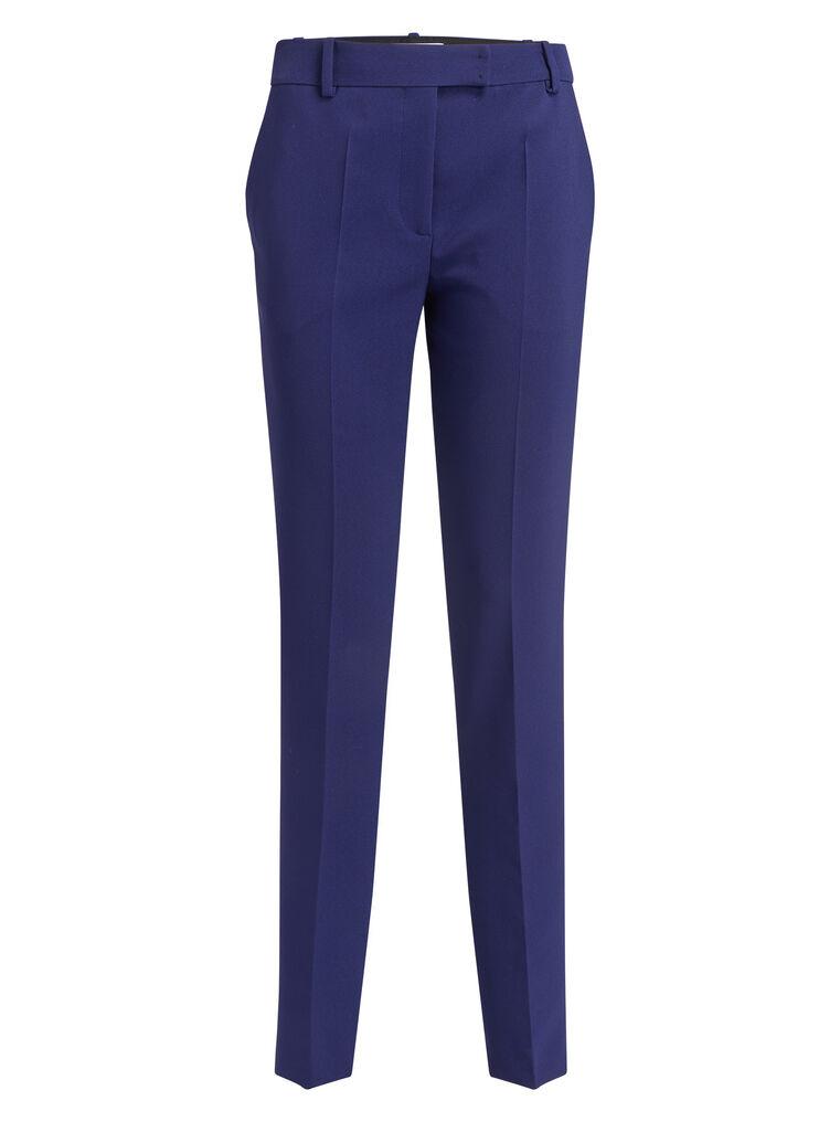 THE ATTICO ''Twiggy'' blue navy skinny pant 4