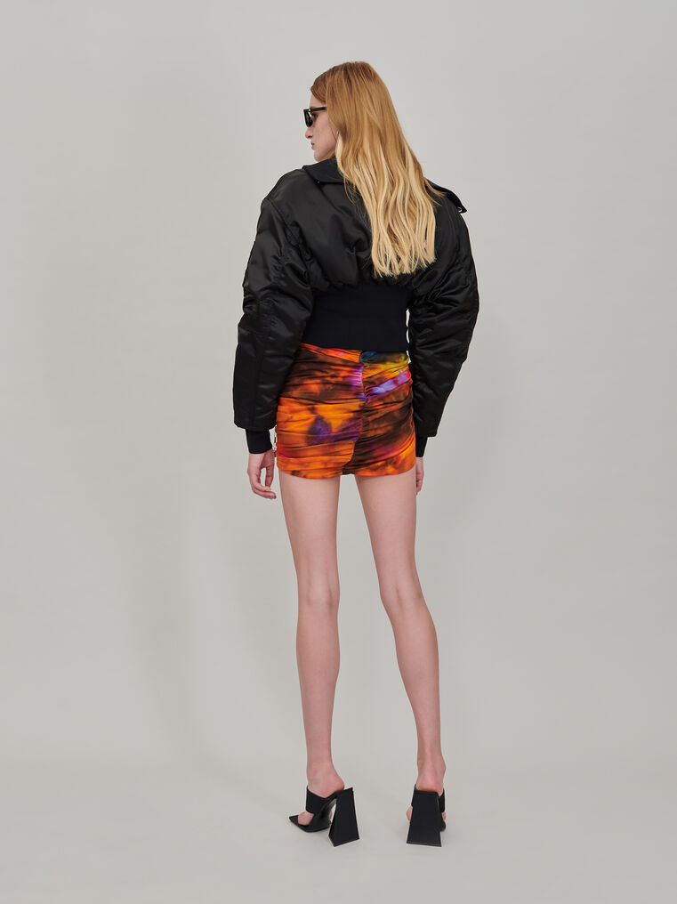 "The Attico ""Anja"" bomber with high collar 3"