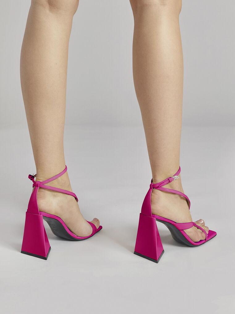 """THE ATTICO """"Atena"""" fuchsia sandal 3"""