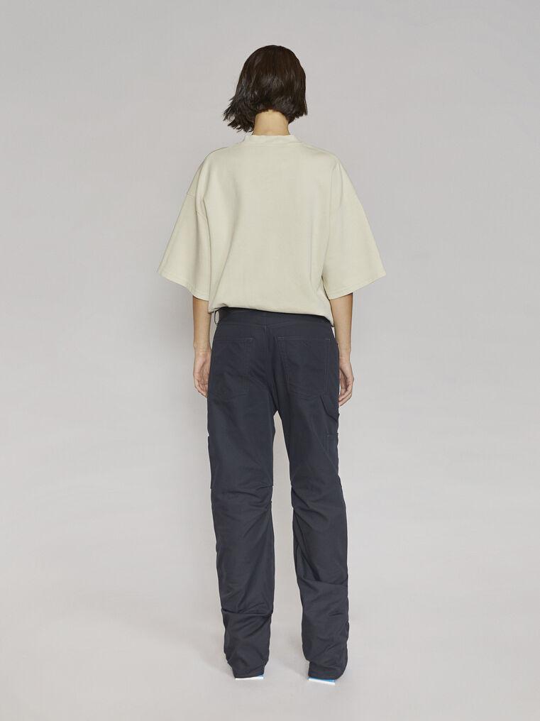"""THE ATTICO """"Cara"""" beige t-shirt 3"""