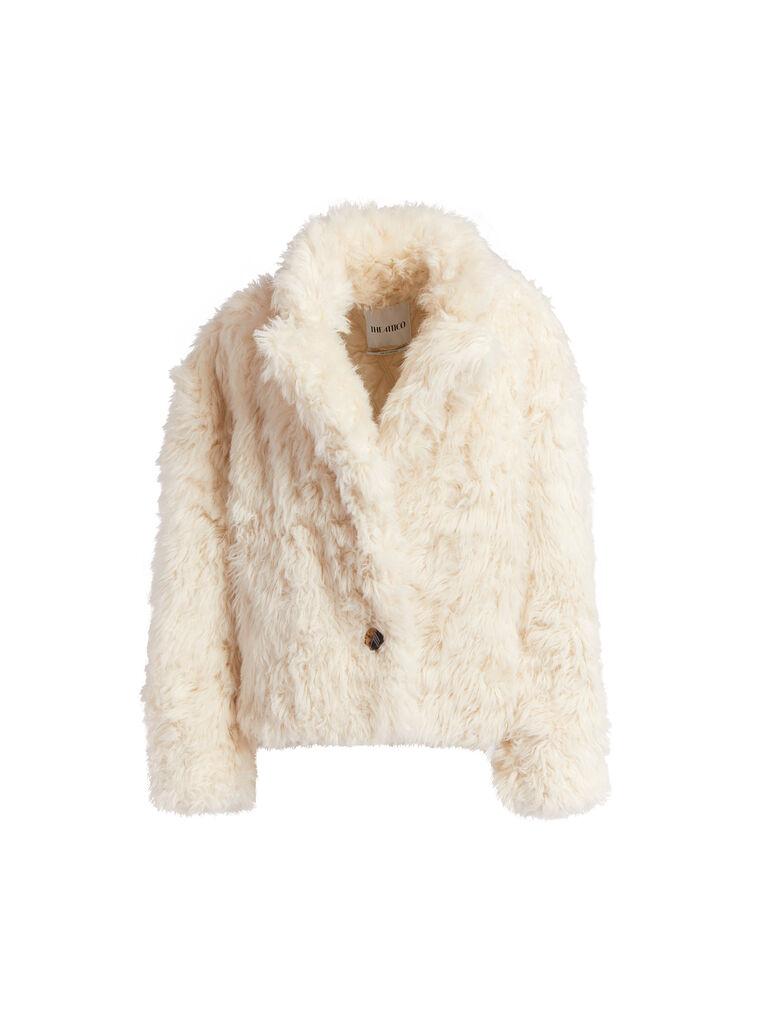 THE ATTICO Mastic short coat 4