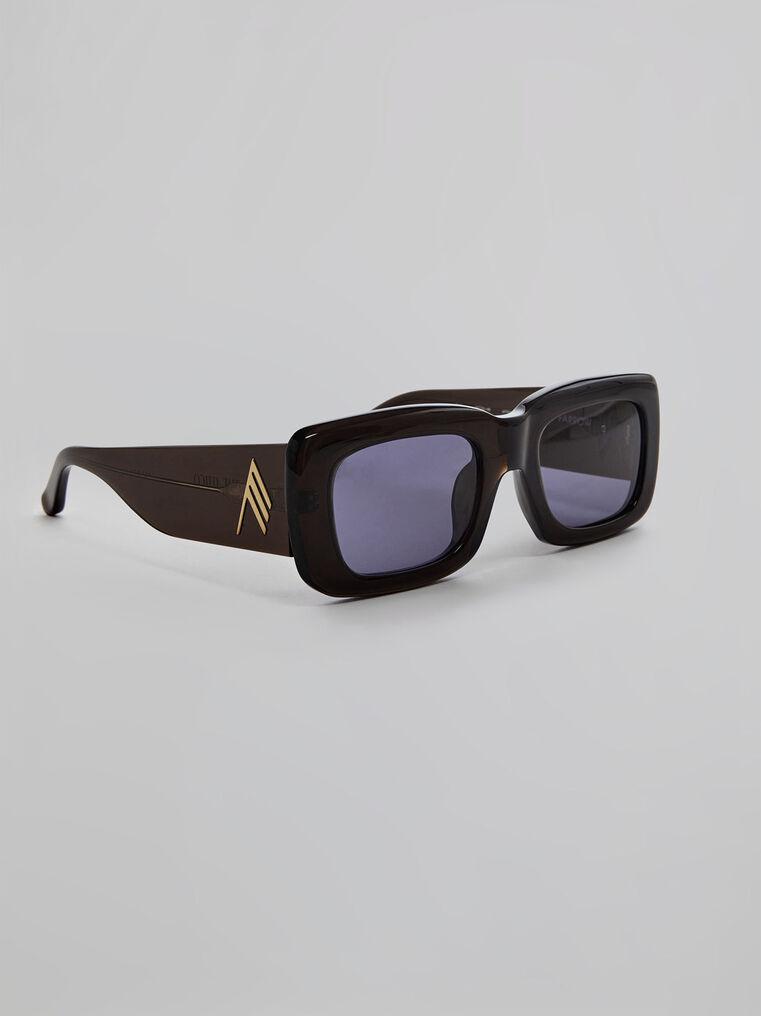 """THE ATTICO """"Marfa"""" brown sunglasses 1"""