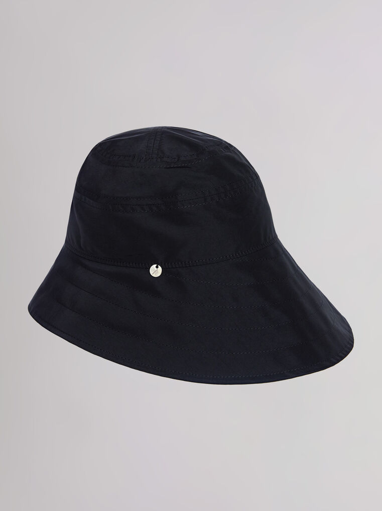 "THE ATTICO ""Dylan"" black bucket hat 1"