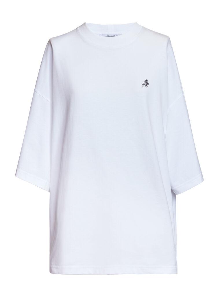 "THE ATTICO ""Cara"" white t-shirt 4"