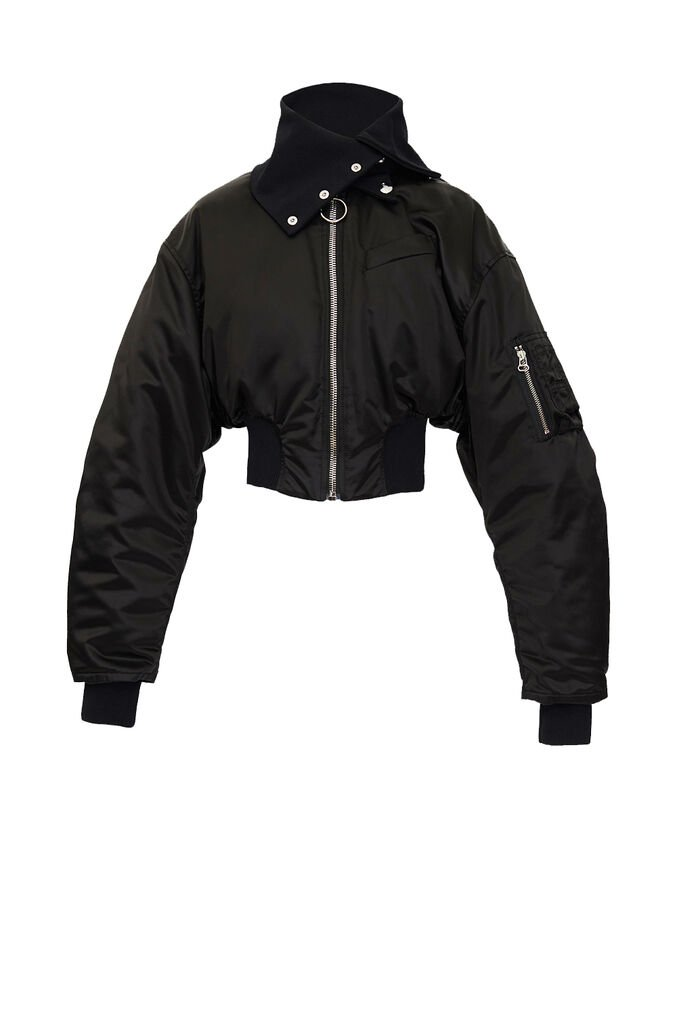 "The Attico ""Anja"" bomber with high collar 4"