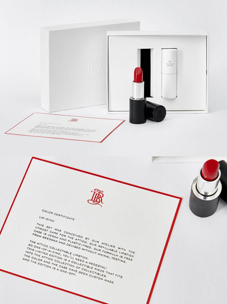 """The Attico """"Lipsynch"""" lipstick in collaboration with La Bouche Rouge 1"""
