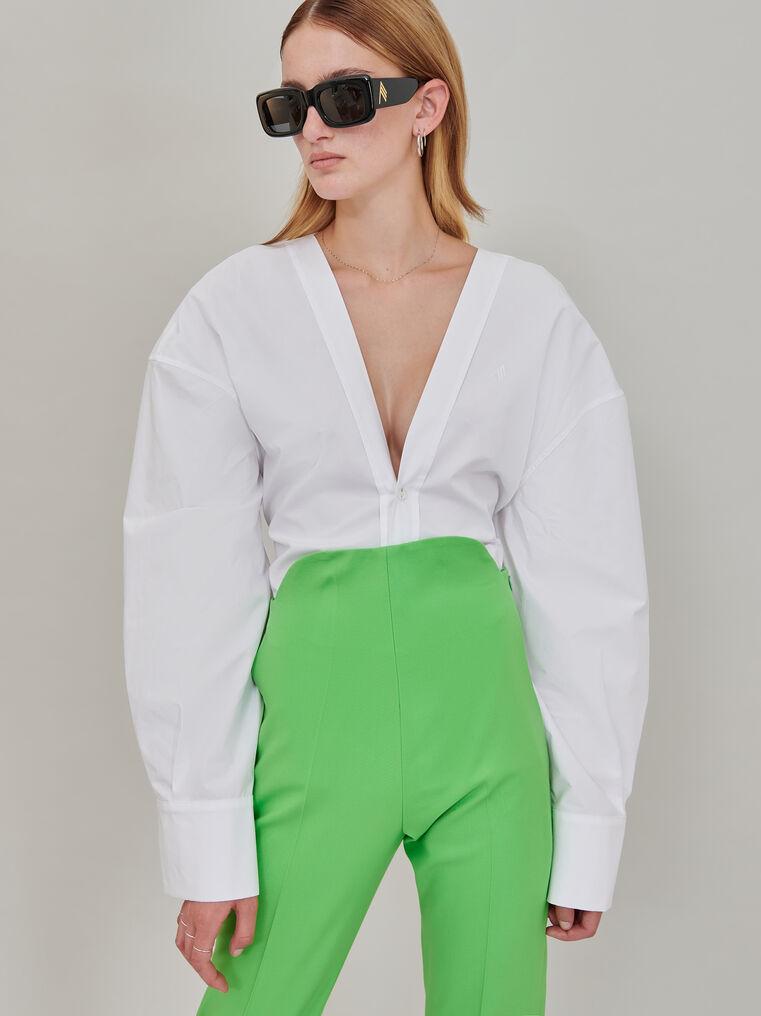 The Attico White shirt 1