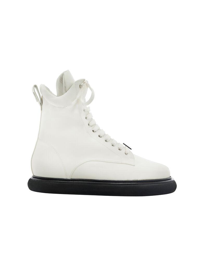 """THE ATTICO """"Selene"""" milk boots 4"""