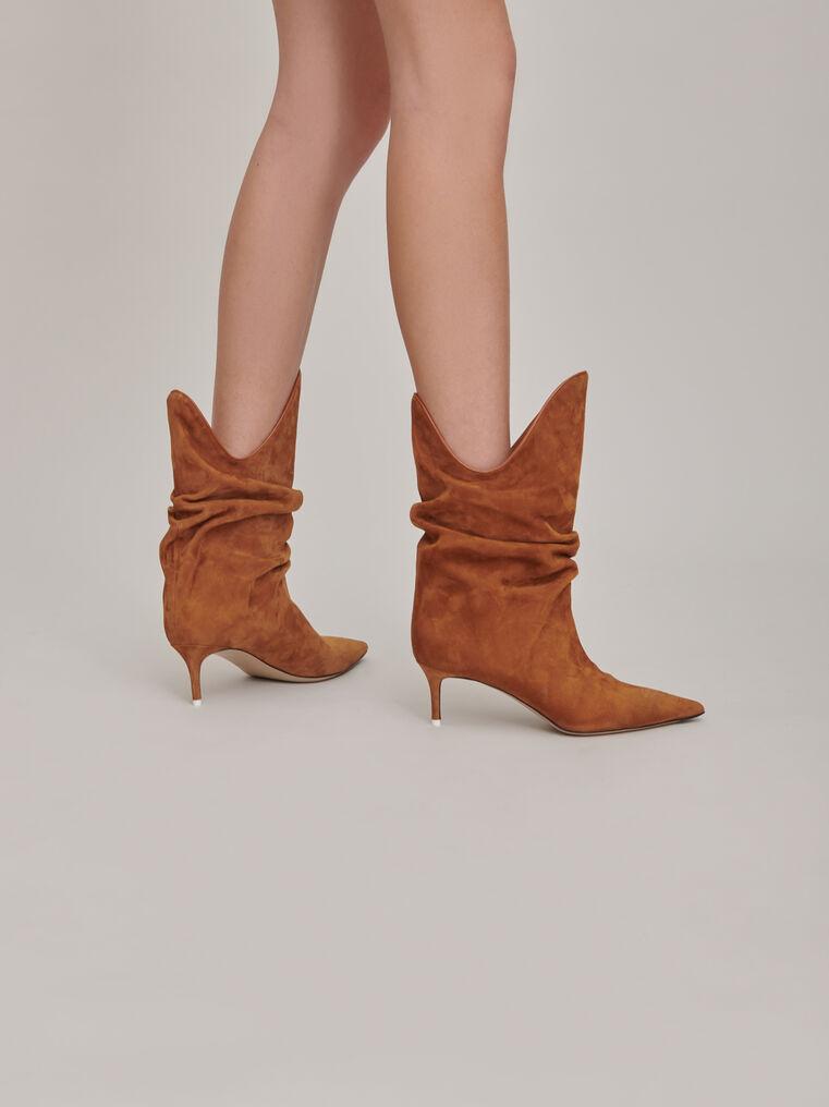 "The Attico ""Tate"" camel boots 3"