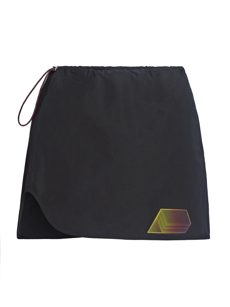 "THE ATTICO ""Giana"" black mini skirt 4"