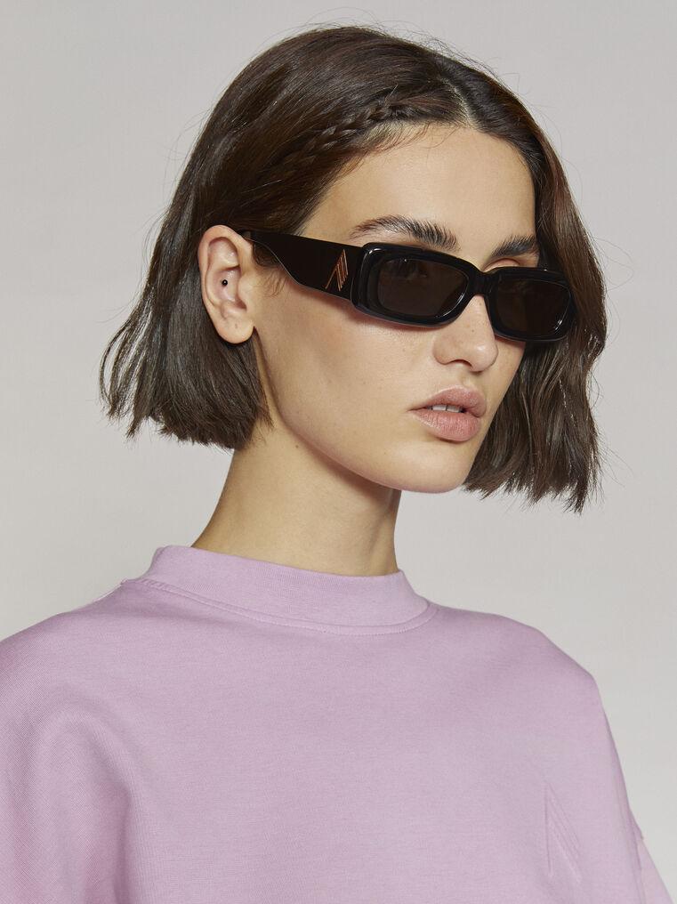 """THE ATTICO """"Mini Marfa"""" black sunglasses 1"""