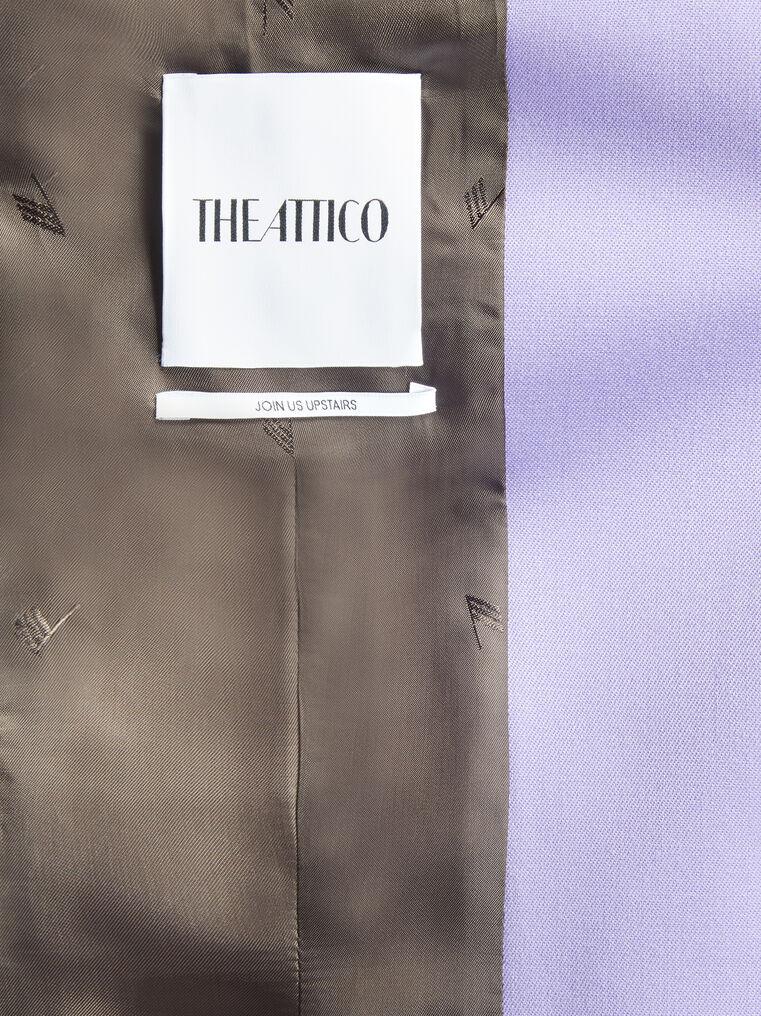 "THE ATTICO ""Blue"" lilac clessidra jacket 4"