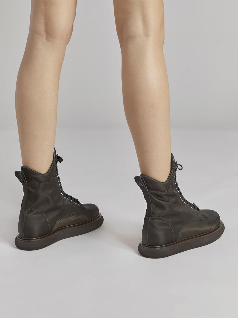 "THE ATTICO ""Selene"" coffee boots 3"