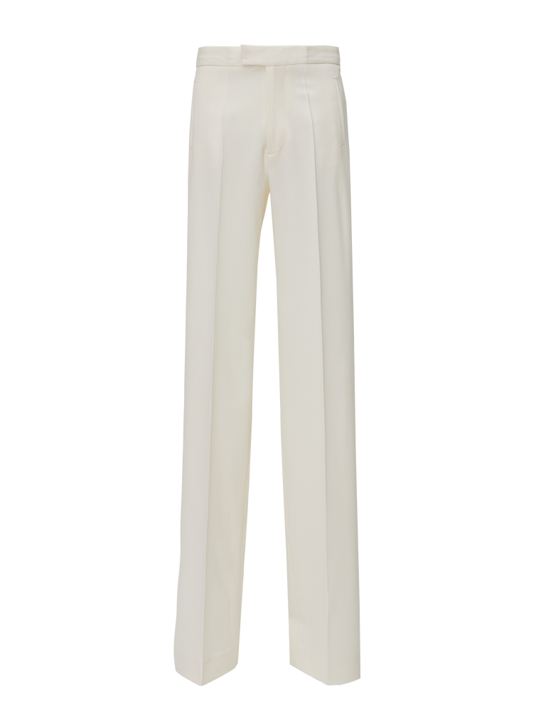 The Attico White wool pants 3
