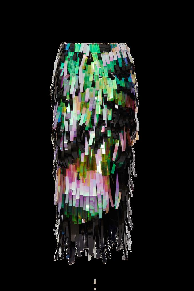 The Attico Pencil midi skirt with slit 4