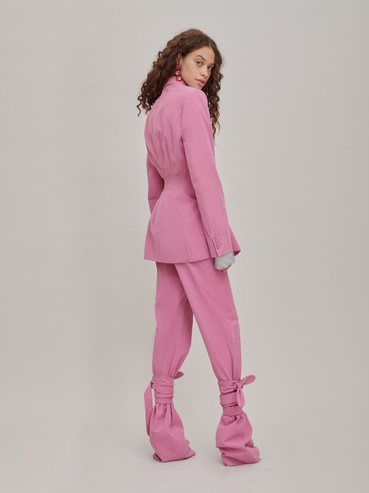 """The Attico """"Donna"""" orchid pink pants 2"""