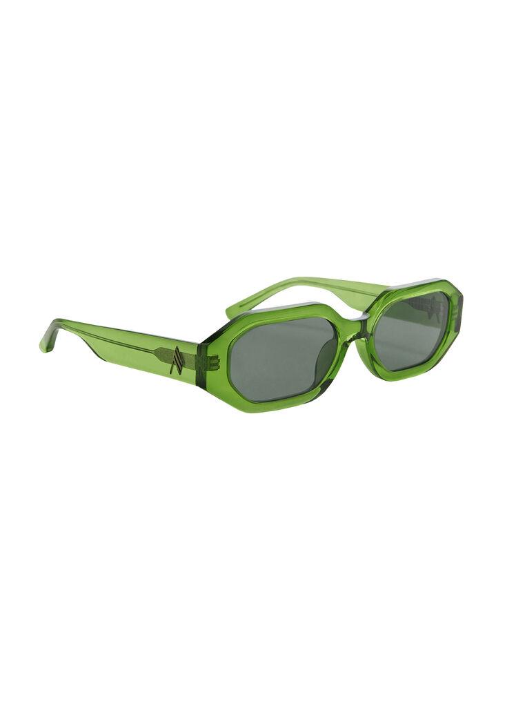 """THE ATTICO """"Irene"""" emerald sunglasses 3"""