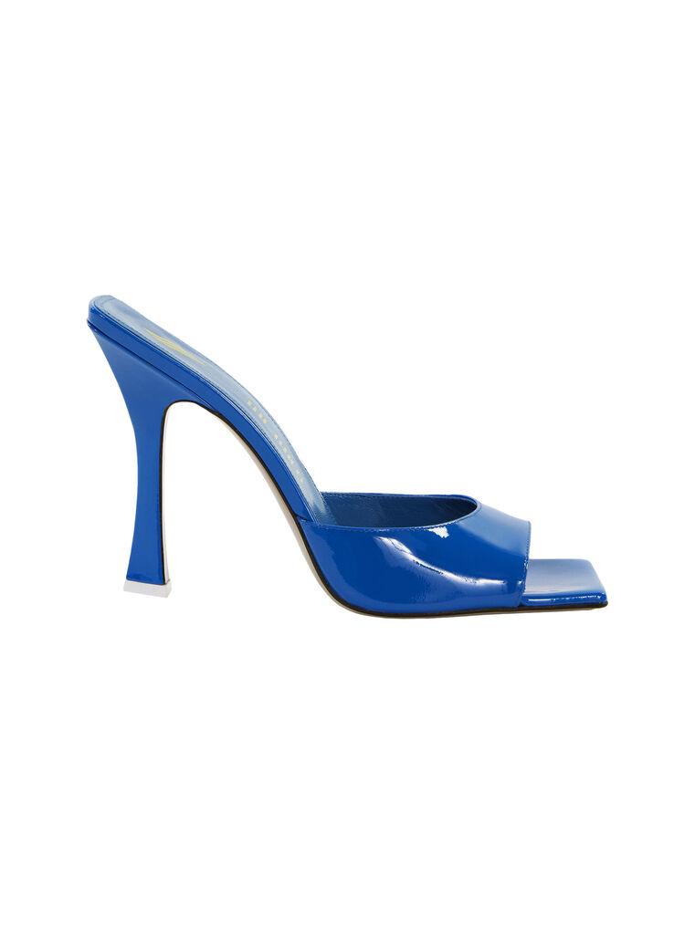 THE ATTICO ''Anais'' capri blue mule 4