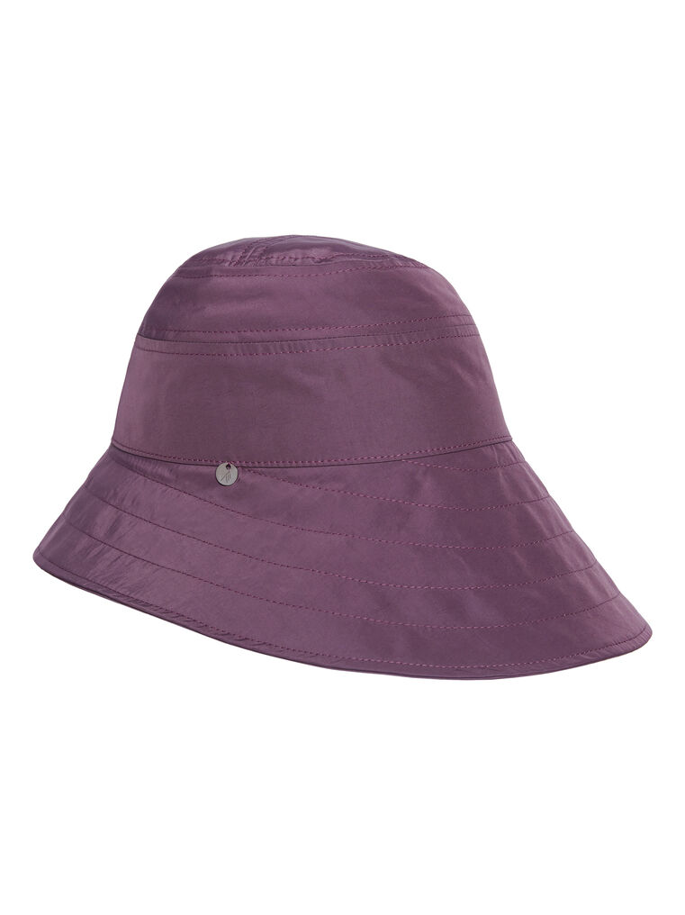 "THE ATTICO ""Dylan"" mauve bucket hat 3"