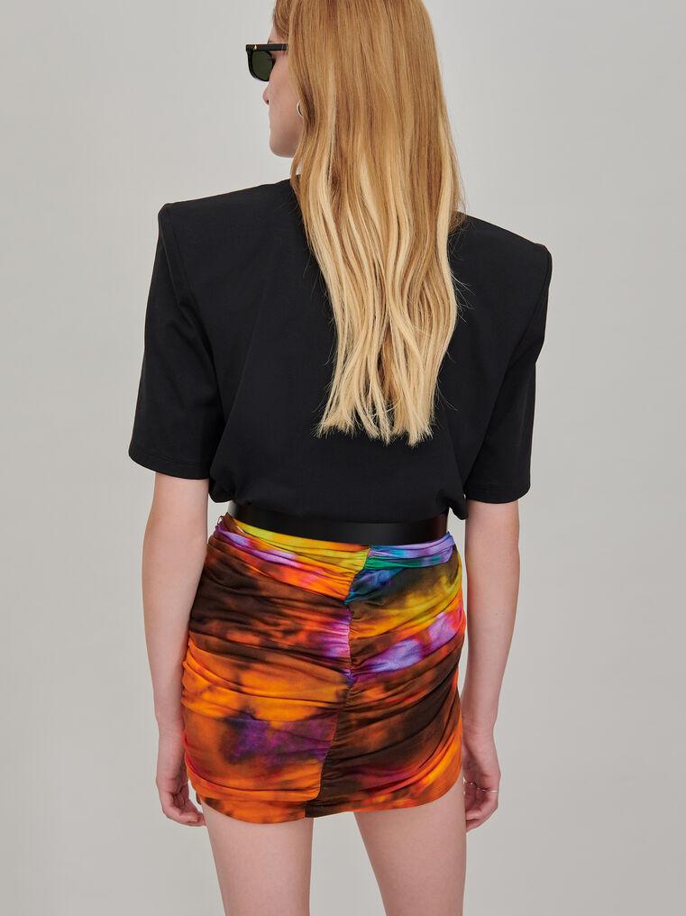 The Attico Draped mini skirt 2