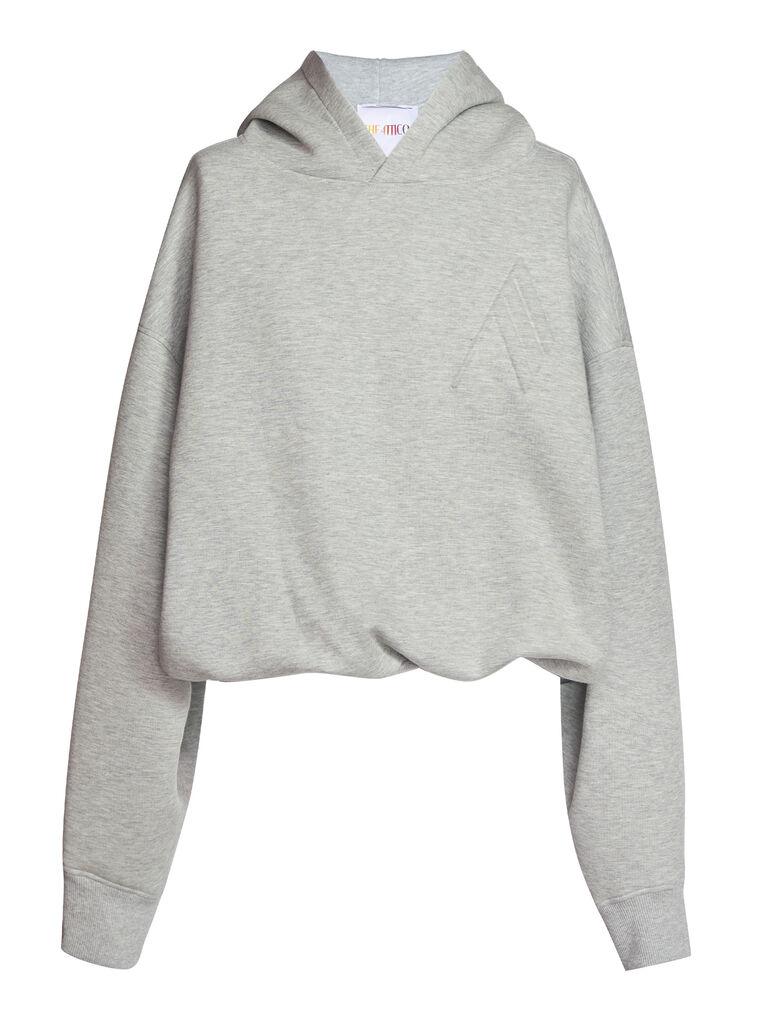 "THE ATTICO ""Maeve"" light grey sweater 4"