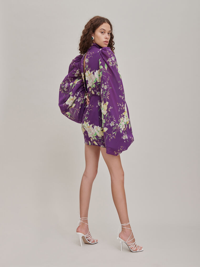"The Attico ""Gabi"" floral-print mini dress 2"