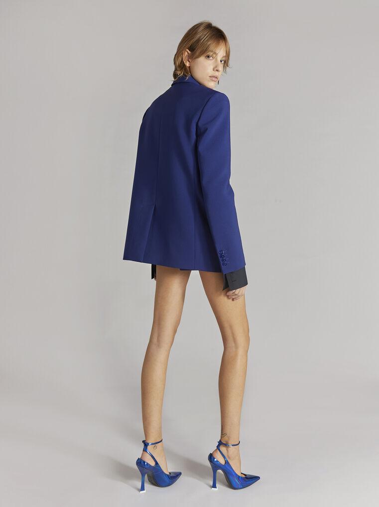 "THE ATTICO ""Bianca"" blue navy blazer jacket 3"