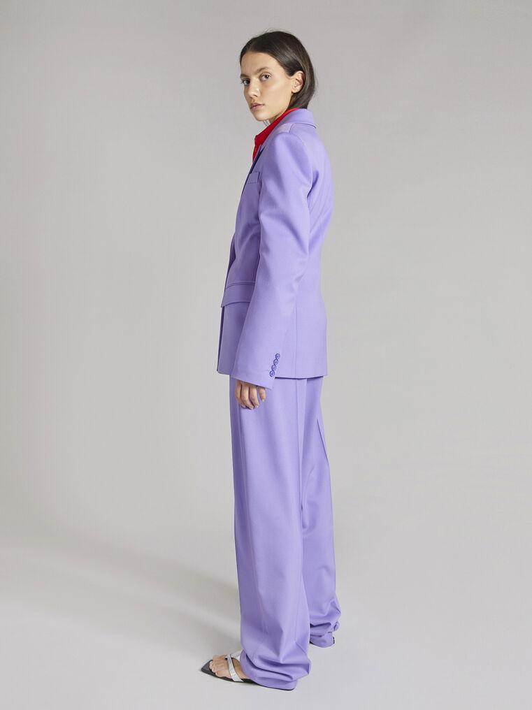 "THE ATTICO ""Jagger"" lilac pants 3"