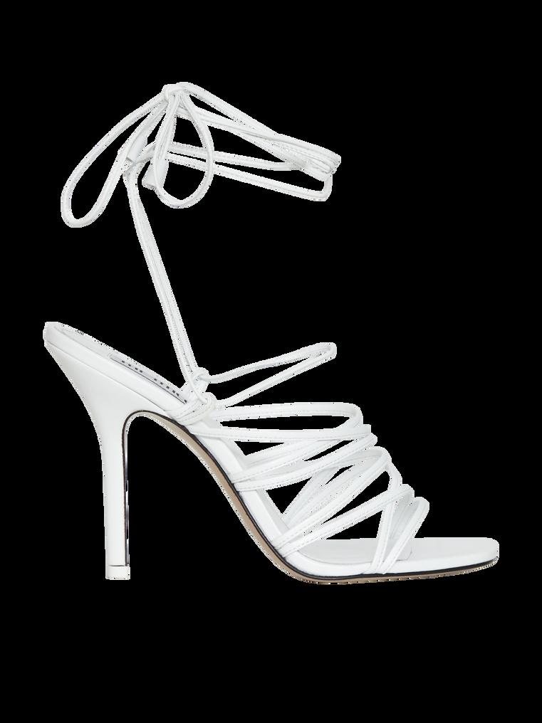 """The Attico """"Fiona"""" white sandal 3"""