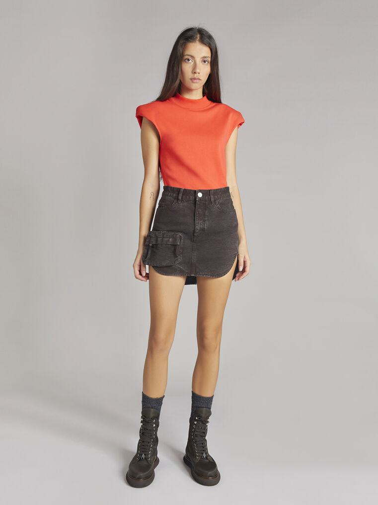 THE ATTICO Cigar mini skirt 1