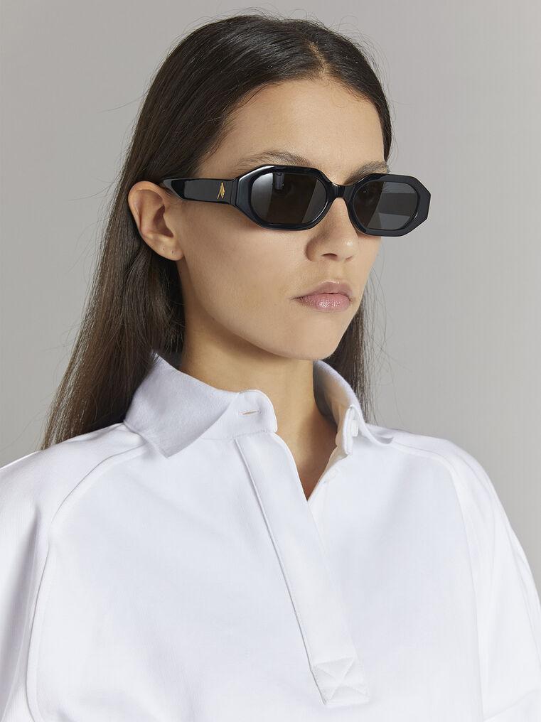 """THE ATTICO """"Irene"""" black sunglasses 2"""