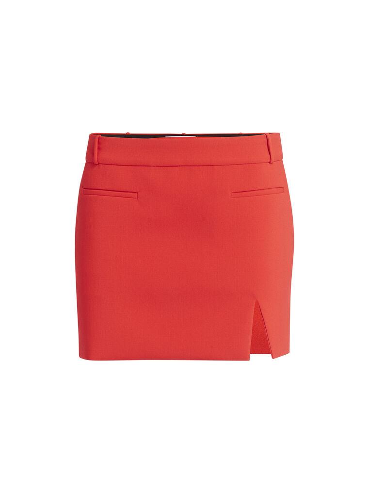 "THE ATTICO ""Edie"" lobster mini skirt 4"